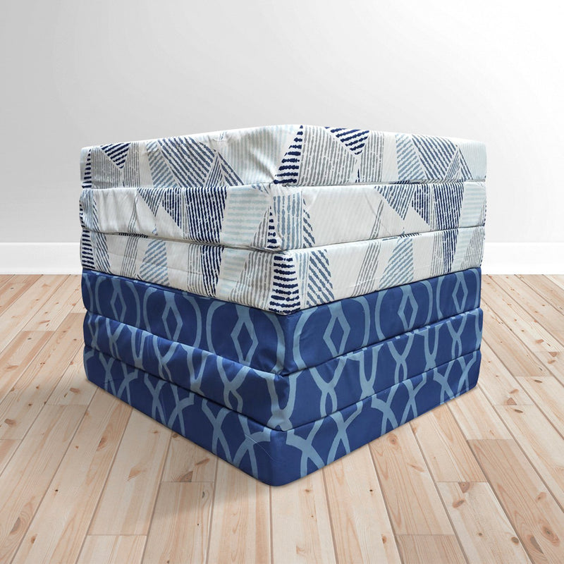 Foldable Foam Mattress in Assorted Prints - Magasins Hart | Hart Stores
