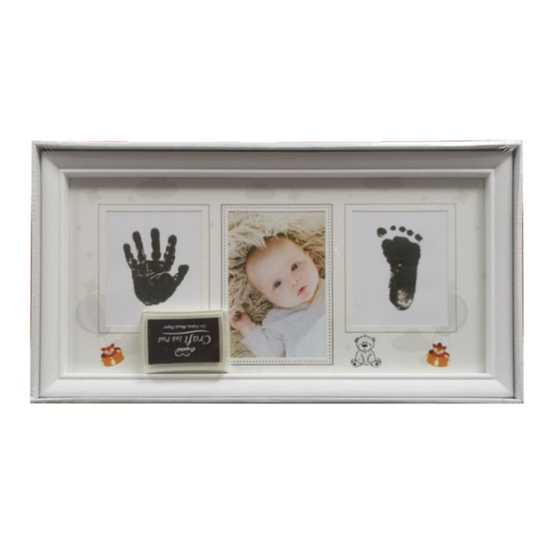 Baby 3 Photo Frame  With Ink Pad - Magasins Hart | Hart Stores