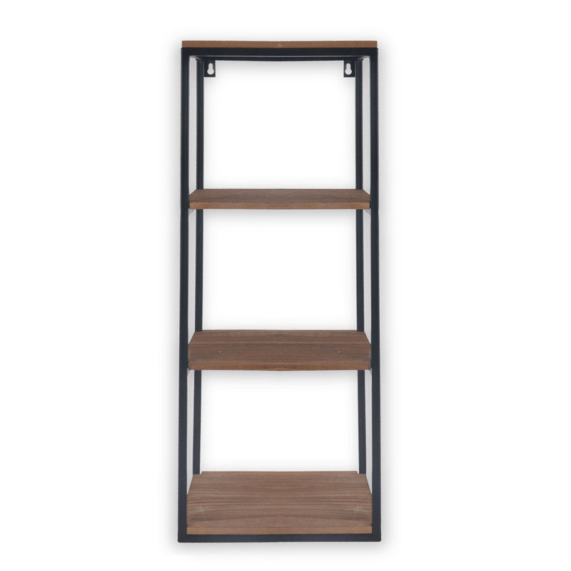 Rustic Oak Look 4-tier Shelf Unit - Magasins Hart | Hart Stores