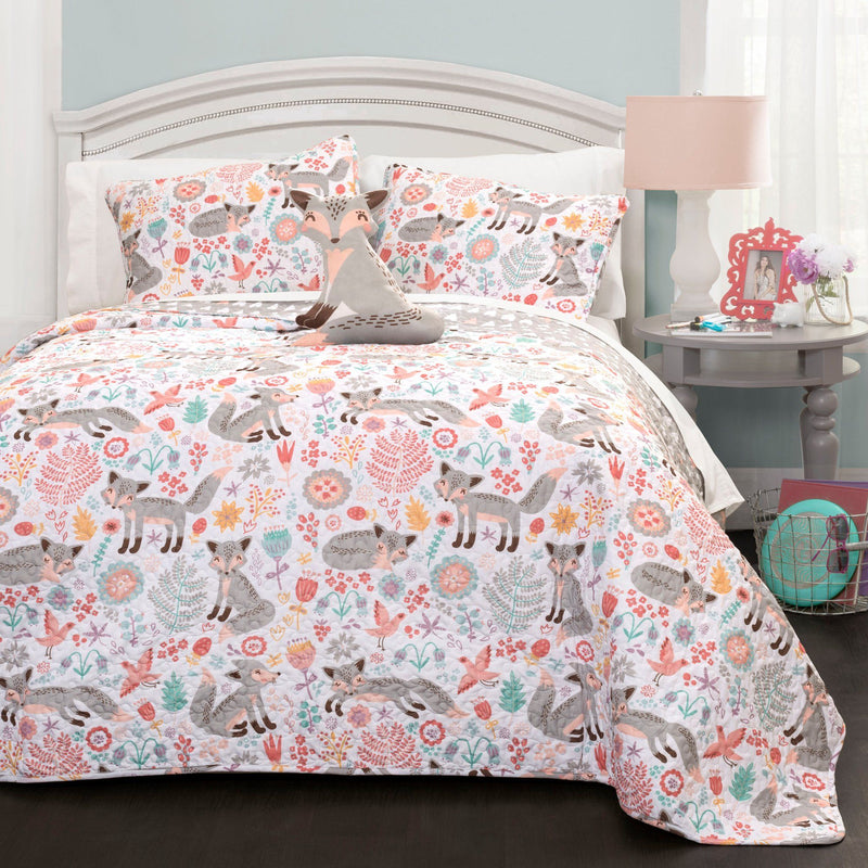Felicia the Fox - 4 Piece Quilt Set - Magasins Hart | Hart Stores