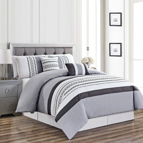 BARCLAY - 5-Piece Comforter Set