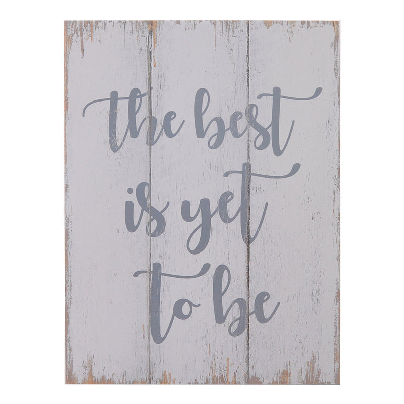 Wall Art - The Best is yet to be - Magasins Hart | Hart Stores