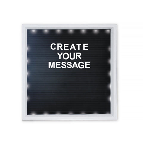 Light Up Text Board