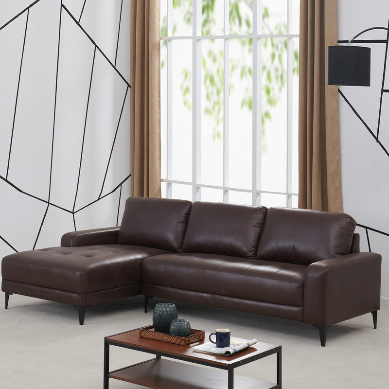 Sandra Venditti - Corner Sofa with Chaise on the right - Magasins Hart | Hart Stores