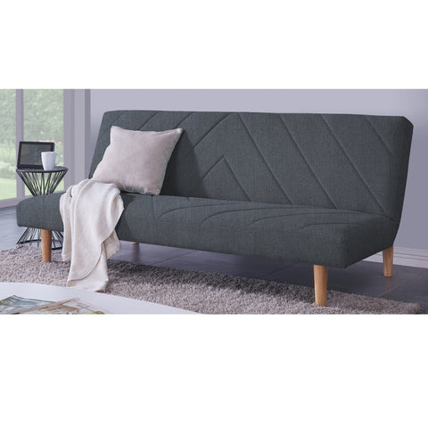 Large Dark Grey Sofa Bed