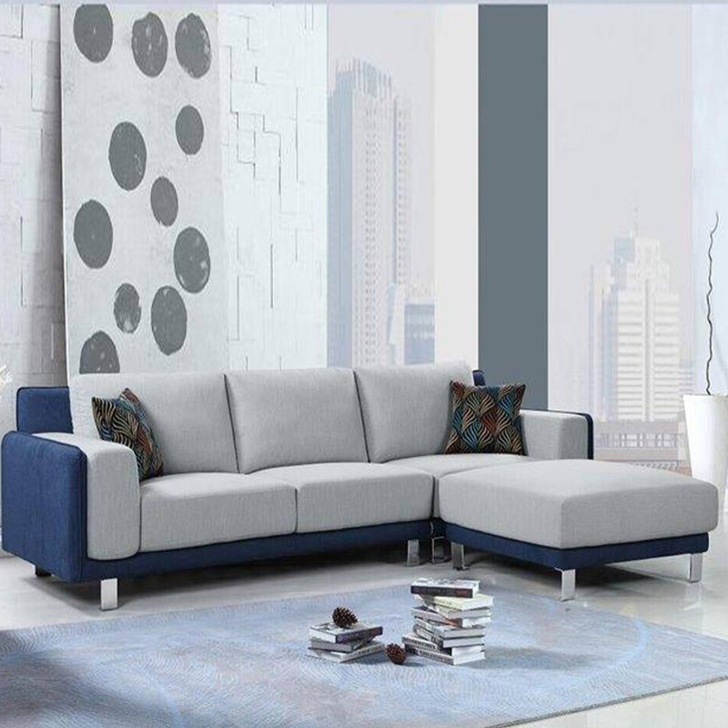 Deluxe 3 Piece Upholstered Sofa Set with Ottoman - Magasins Hart | Hart Stores