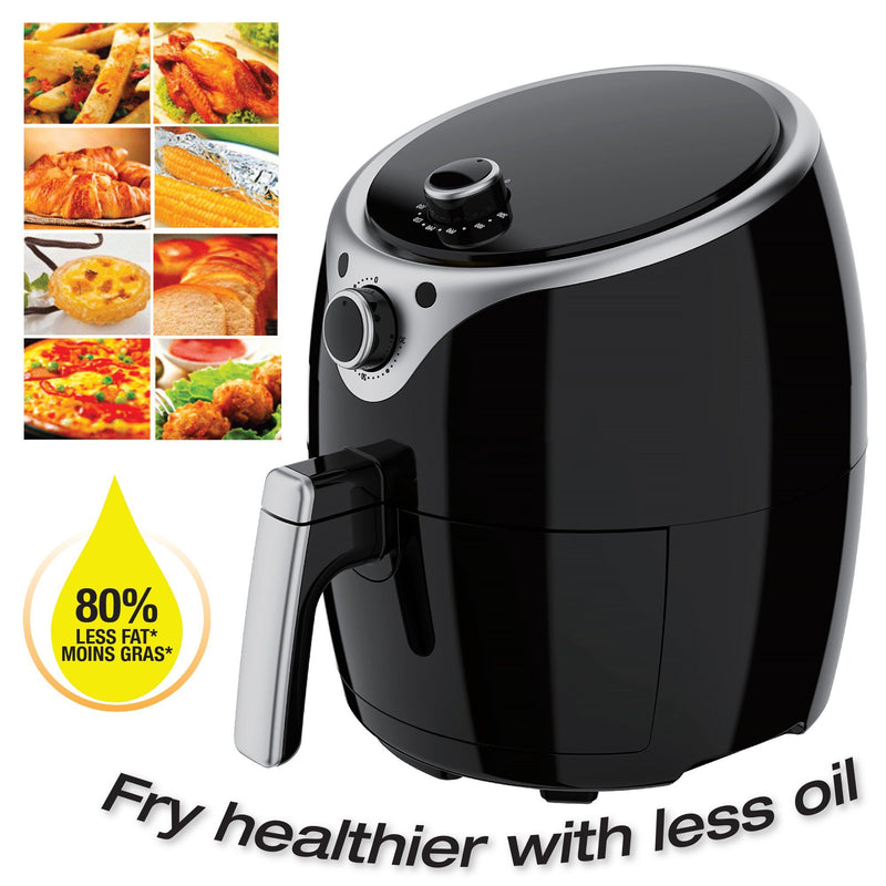 Massimo - 3.5 L Air Fryer Detachable Tank 1400 W - Magasins Hart | Hart Stores