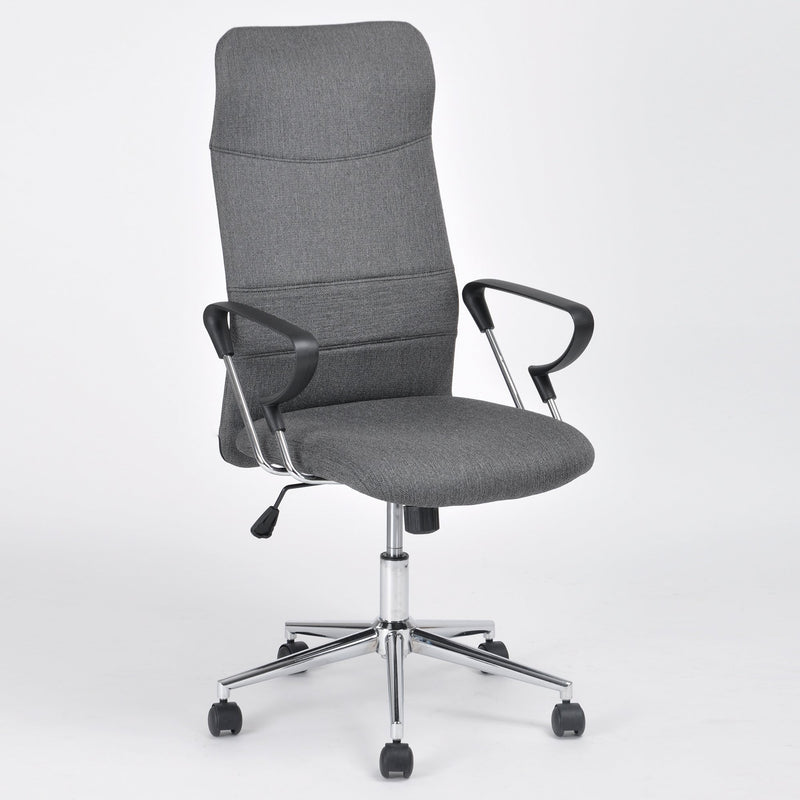 FISHER - Tall Back Dark Grey Office Chair - Magasins Hart | Hart Stores