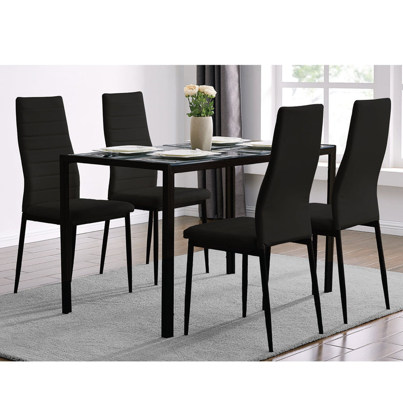 Sandra Venditti - 5 Piece Dining Set (in-store pickup only) - Magasins Hart | Hart Stores