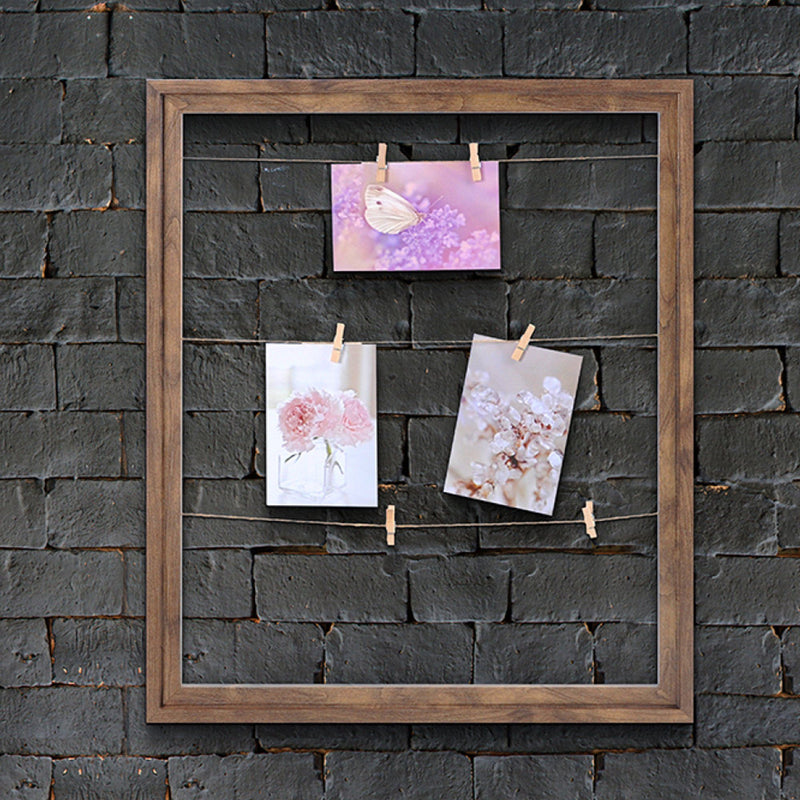 Wood Look Photo Clip Frame - Light Brown - Magasins Hart | Hart Stores