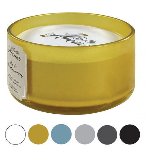 BELLE AROMA Scented 3-wick Candle