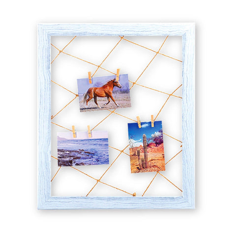 Wood Look Photo Clip Frame - Pastels