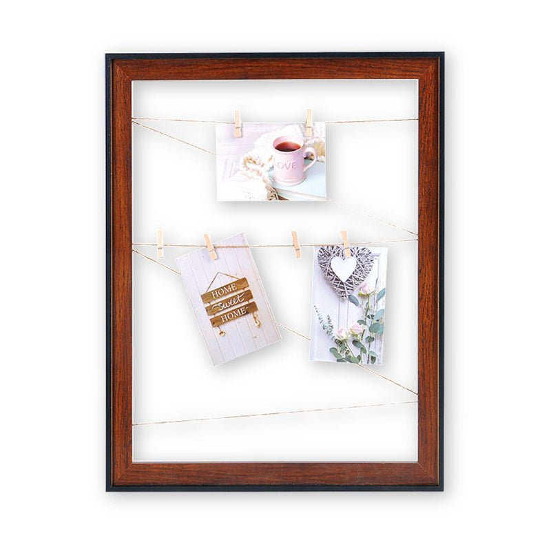 Wood Look Photo Clip Frame - Dark Brown - Magasins Hart | Hart Stores