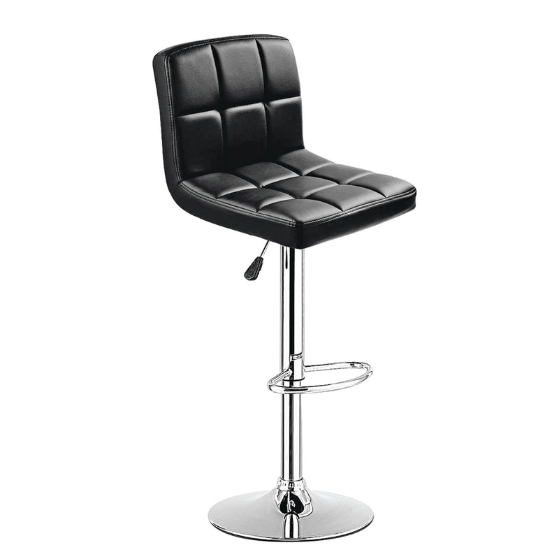 PU Barstool with Chrome Base - Magasins Hart | Hart Stores