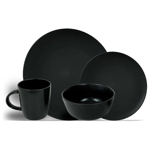 Stoneware Dinner Set - 16pc