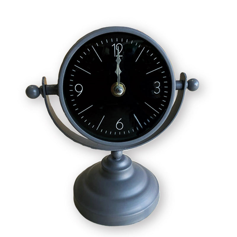 Grey Table Top Clock - Magasins Hart | Hart Stores
