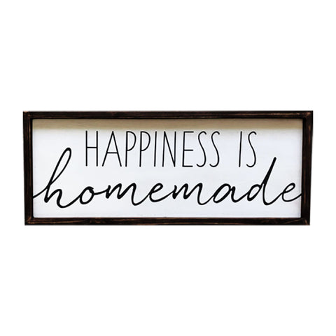 """Happiness is Homemade"" - Wall Decor"