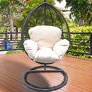 Decorative Swing Chair with Cushions and Stand - Magasins Hart | Hart Stores
