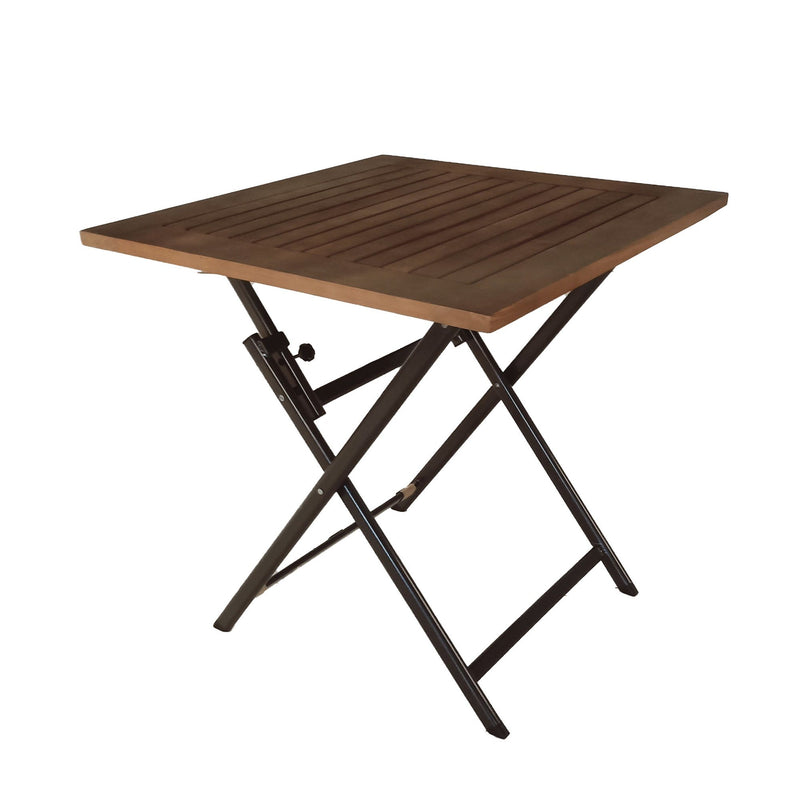 Folding Outdoor Side Table - Eucalyptus - Magasins Hart | Hart Stores