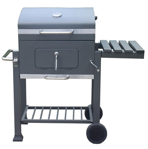 Charcoal BBQ with adjustable grill 61cm