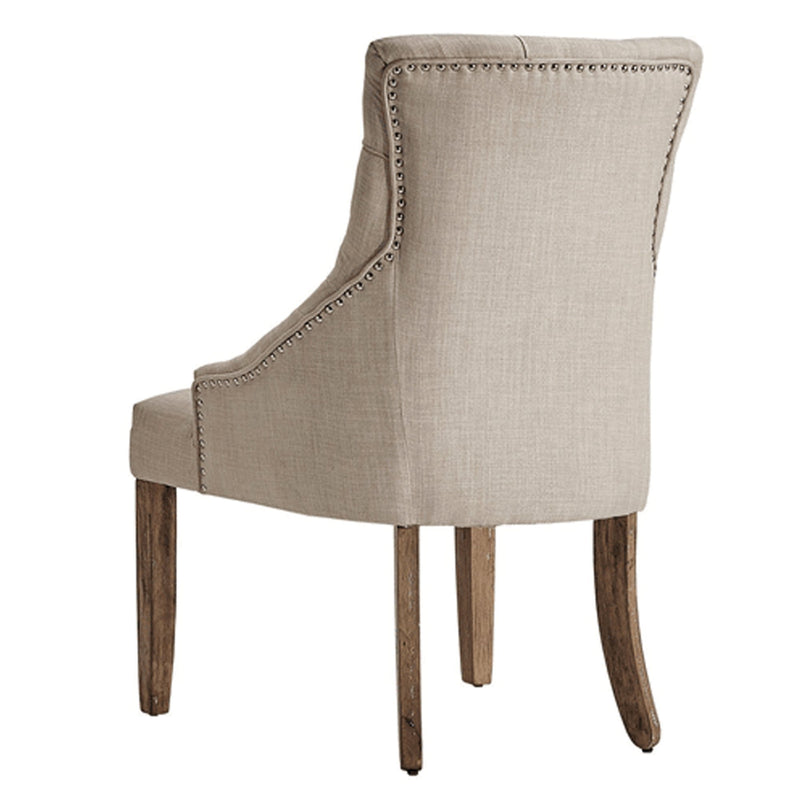 Deluxe Linen Accent Chair | Beige - Magasins Hart | Hart Stores