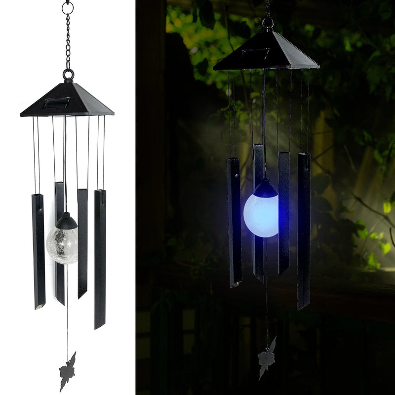 Solar Powered  Windchime - Color Changing LED Light - Magasins Hart | Hart Stores
