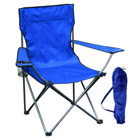 Folding Camping Chair with Cupholder and Carry Case