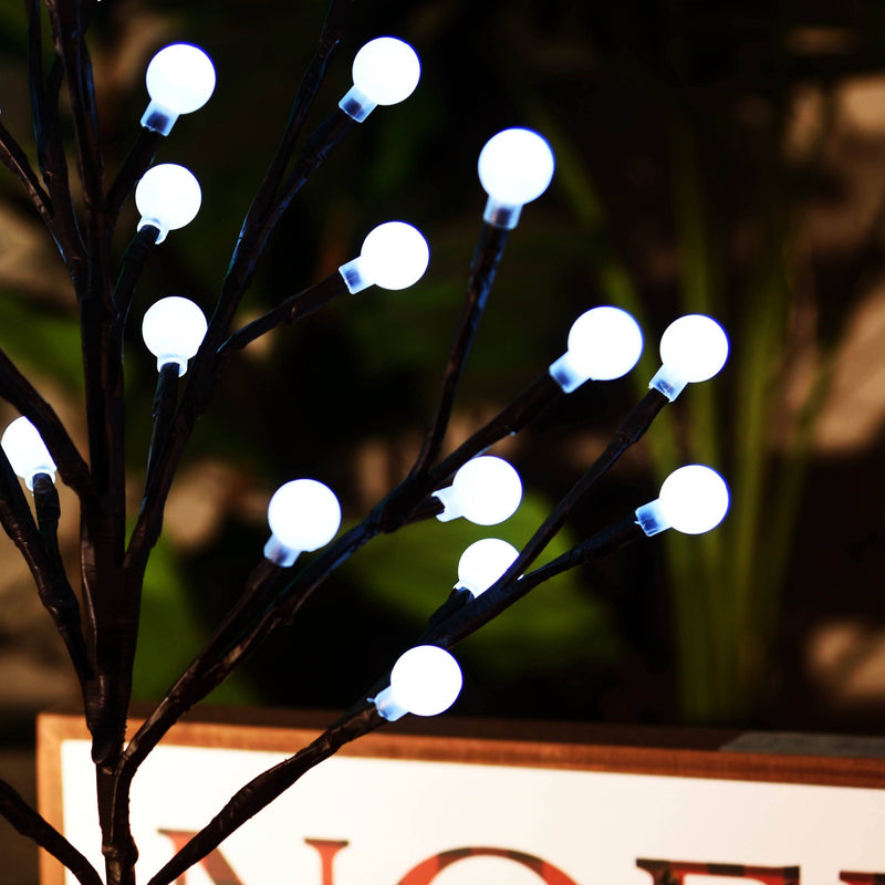 Branch Tree with LED Light Balls - Magasins Hart | Hart Stores