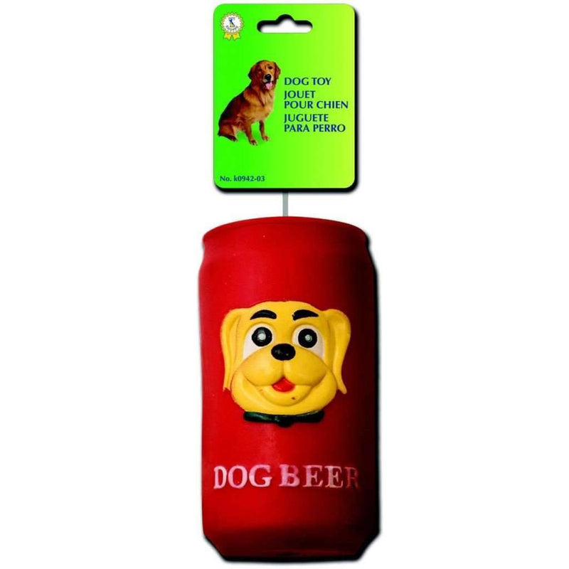Squeaky Dog Toy Beer Can - Magasins Hart | Hart Stores