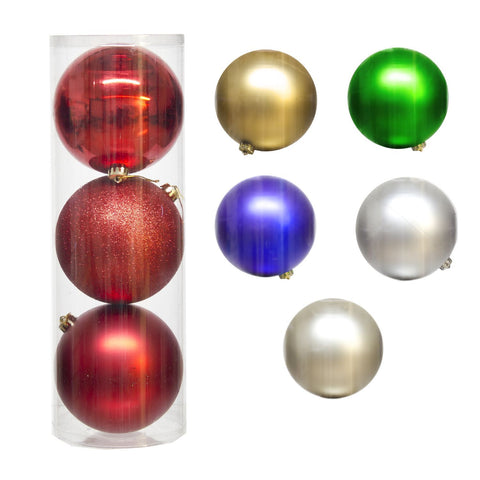 6 Asst.150Mm Plastic Balls X3 Pcs/Pack