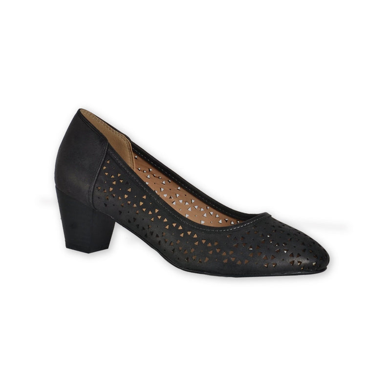 Perforated pumps - 2 inches heel - Magasins Hart | Hart Stores