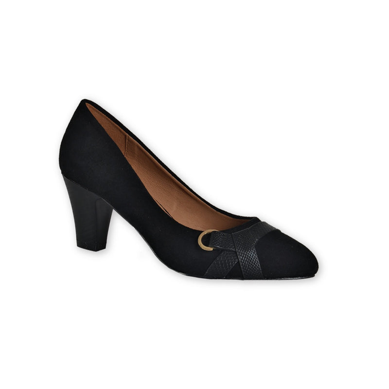 Suede pumps - 2 ½ inches heel - Magasins Hart | Hart Stores