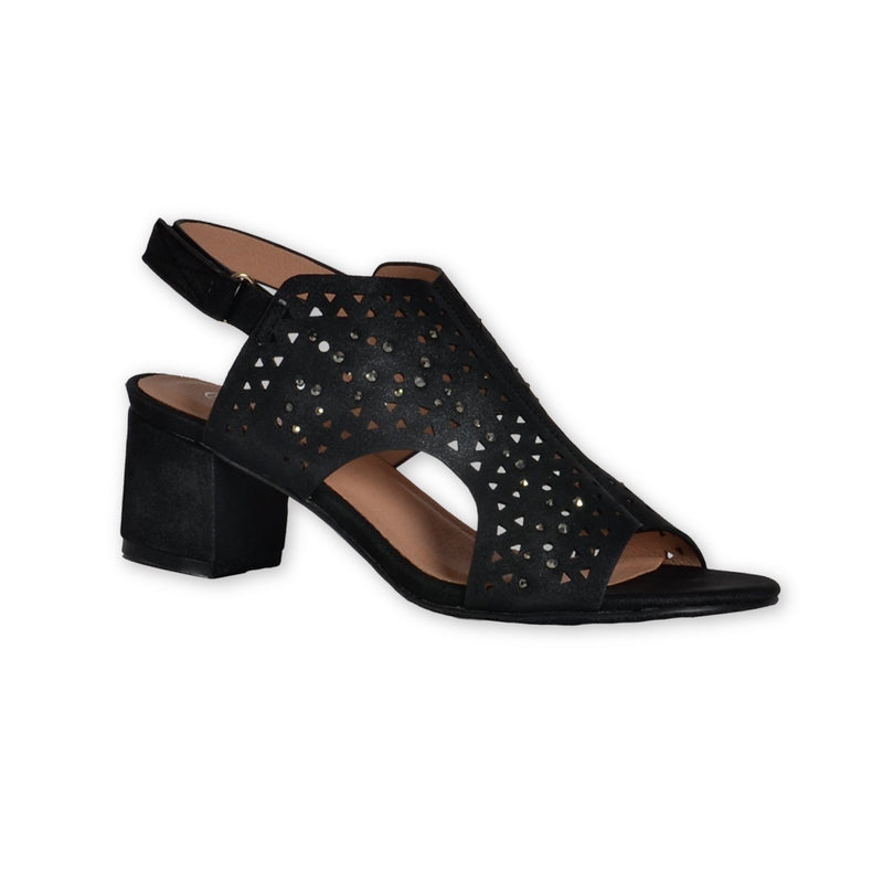 Block Heel Sandals - Black - Magasins Hart | Hart Stores