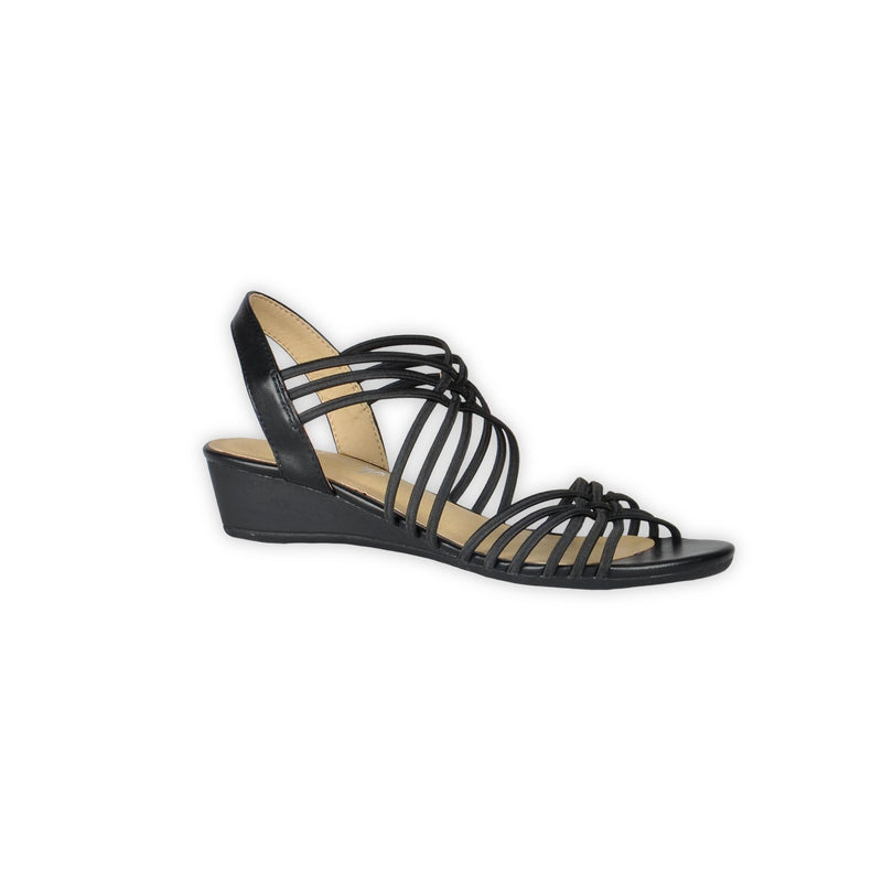 Strappy Sandals - Black - Magasins Hart | Hart Stores