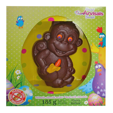 Hollow Easter Chocolate - Monkey