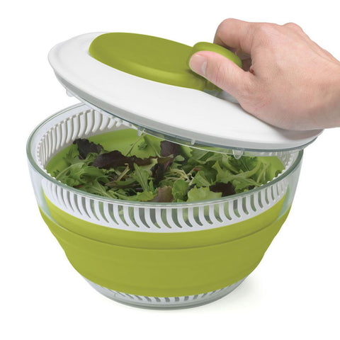 Starfrit: Collapsible Salad Spinner