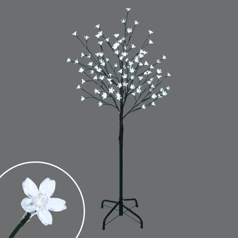 4' Led Light Up Cherry Tree, 100 Lights