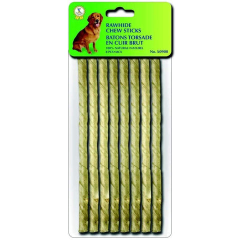 Rawhide Sticks 10ct