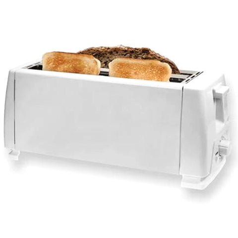 Hauz - 4 Slice Wide Slot Toaster