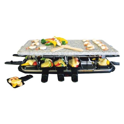 Electric Raclette with Stone Surface