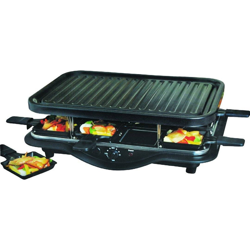 Electric Raclette For 8 - Magasins Hart | Hart Stores