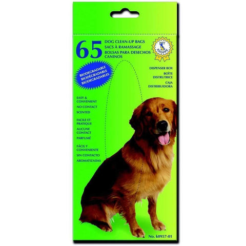 Dog Clean-up Bags 65 Pcs/box