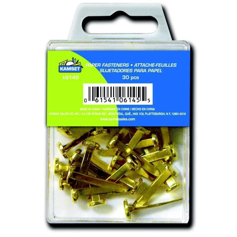 30 Paper Fasteners - Brass - Magasins Hart | Hart Stores