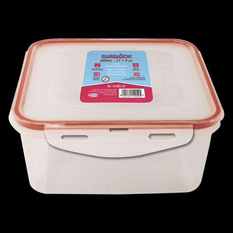 Surelock Food Container Square 800ml