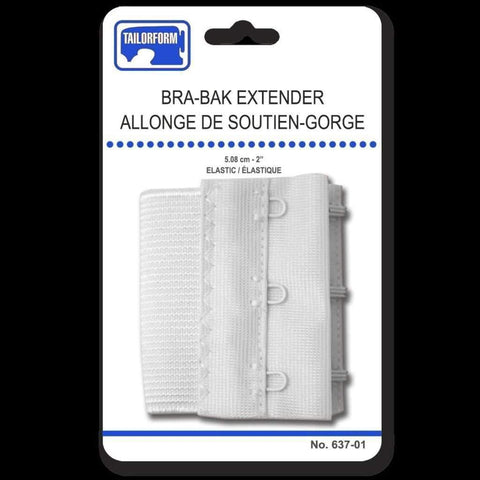 2in Bra Bak Extender White