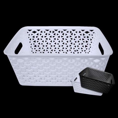 Basket 10.2x7.95x4in Black/white