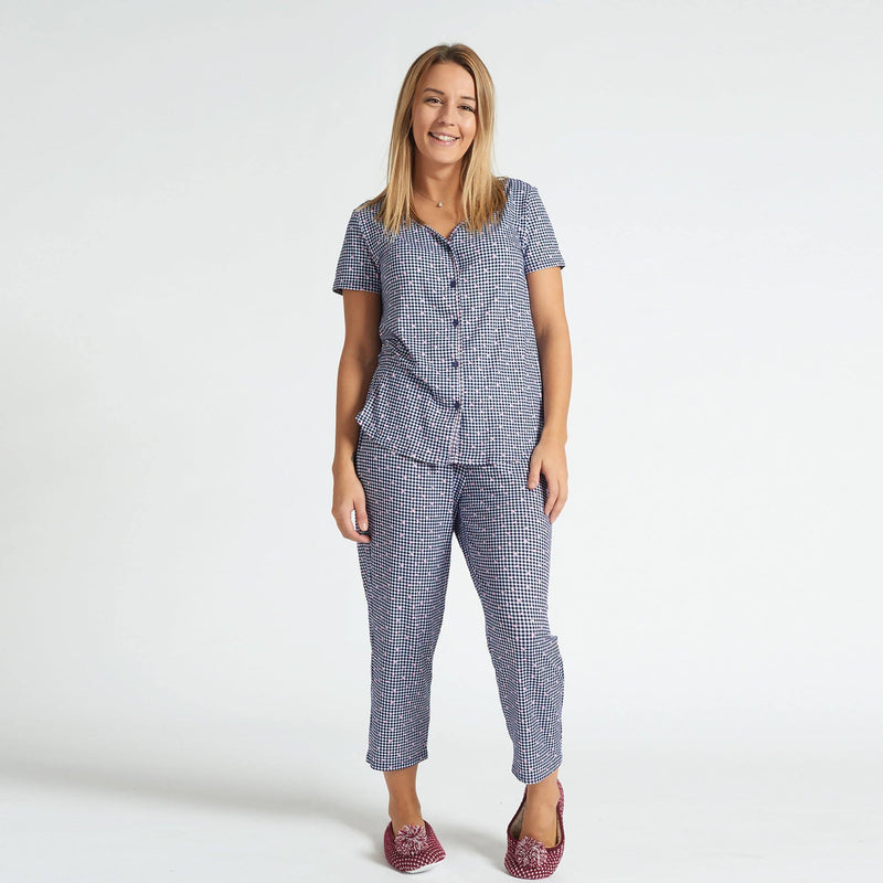 2 Pieces Pyjama - Patterned Purple - Magasins Hart | Hart Stores