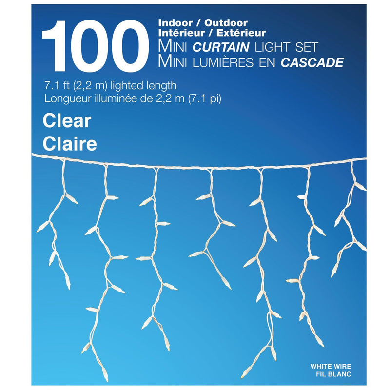 100 Mini Outd Incandescent Curtain Light - Magasins Hart | Hart Stores