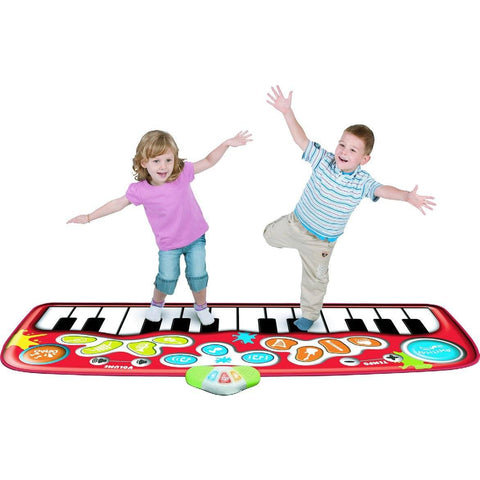 Step To Play Piano Mat Jumbo