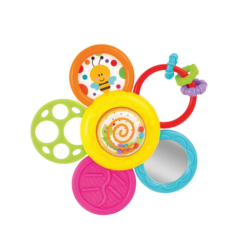 Daisy Spin Rattle & Teether